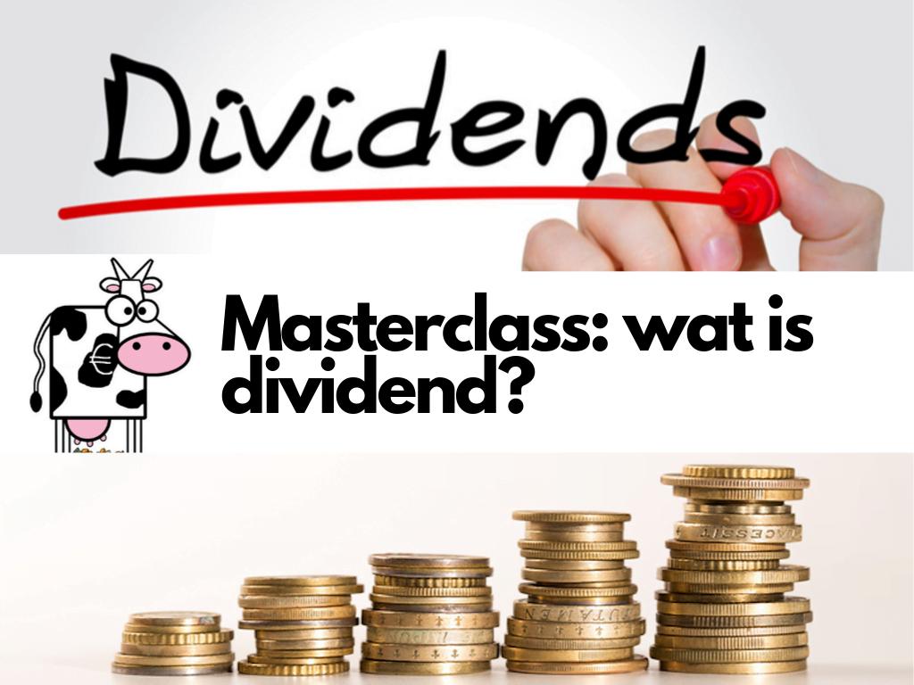 Wat is dividend