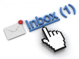Mail in inbox