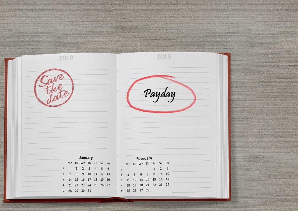 Leven van salaris naar salaris