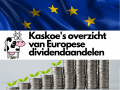 Overzicht van Europese dividendaandelen