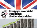 Overzicht van Britse dividendaandelen, de geboorte