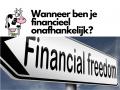 Wanneer ben je financieel onafhankelijk?
