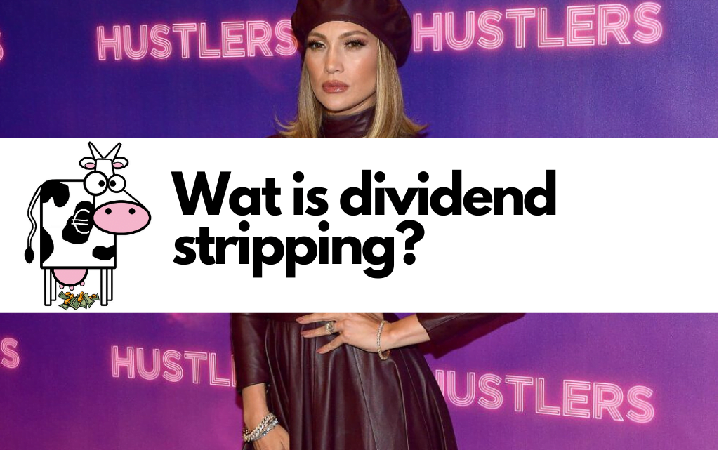 Wat is dividend stripping?