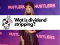 Wat is dividend stripping