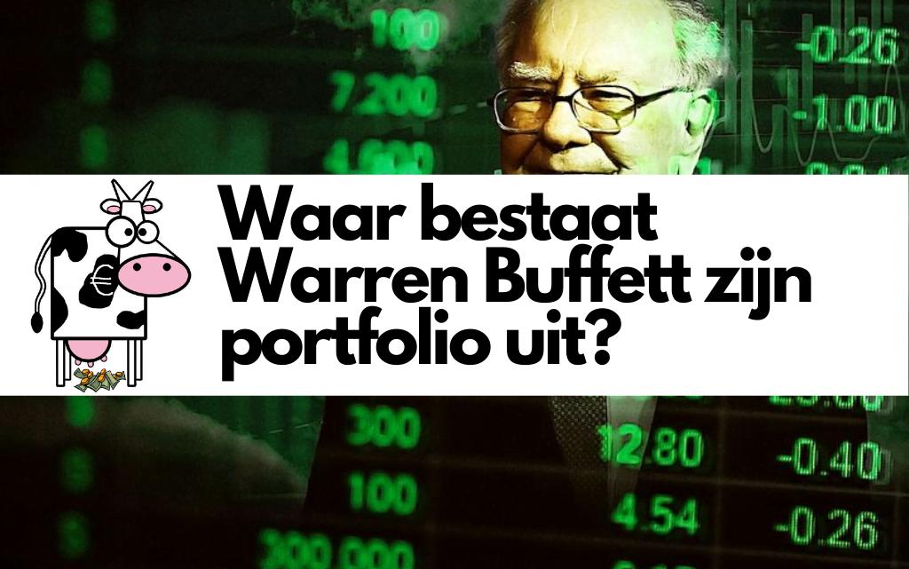Waar bestaat Warren Buffett zijn portfolio uit?