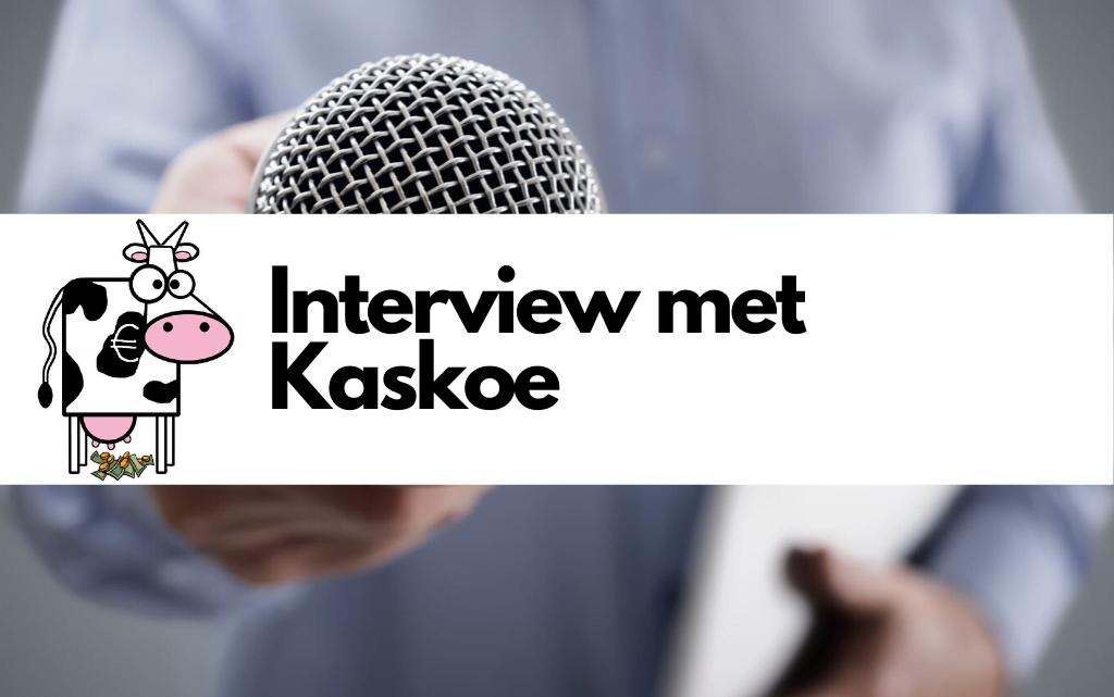 Interview met Kaskoe op de site van collega blogger