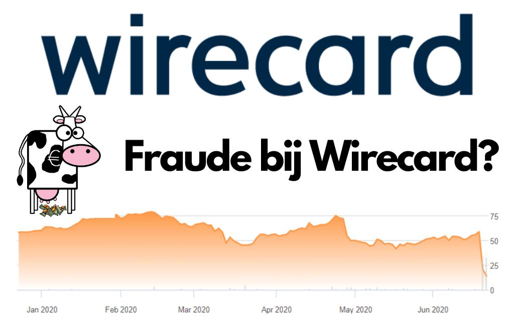 Fraude bij Wirecard leidt tot extreme koersval
