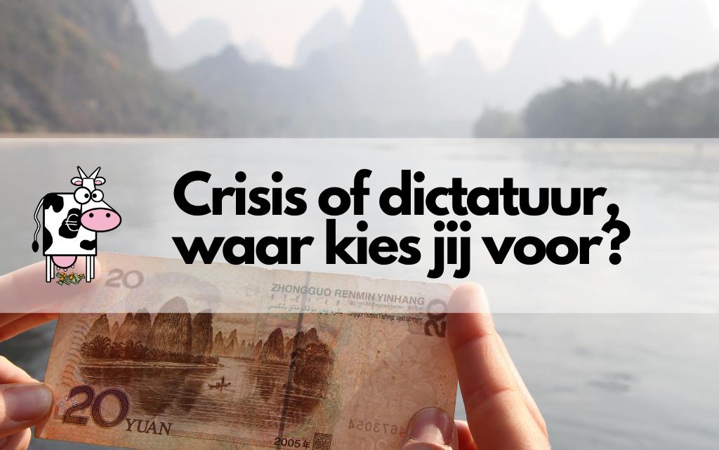 Crisis of dictatuur, waar kies jij voor?