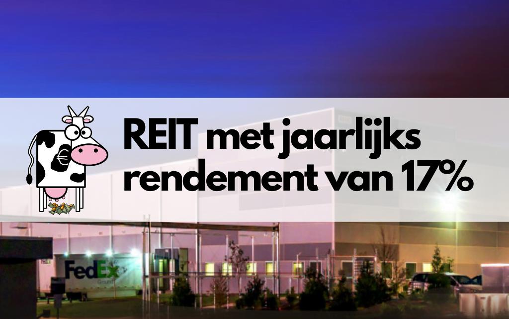 Monmouth Real Estate: REIT met jaarlijks 17% rendement