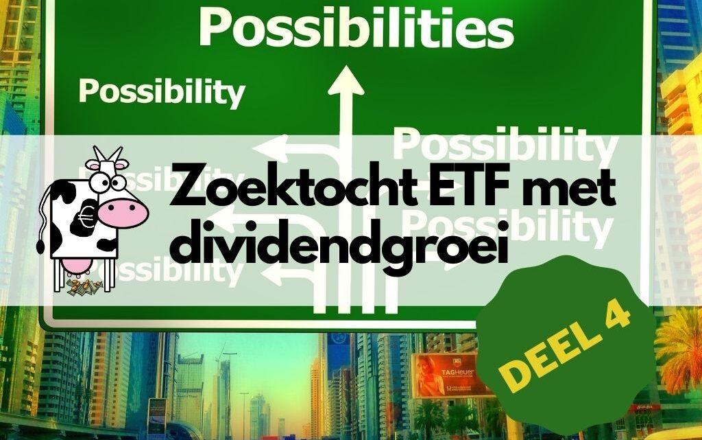 Welke ETF's leveren de hoogste dividendgroei?