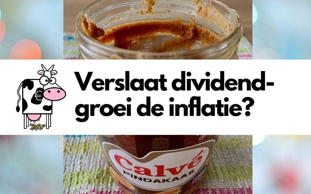 Verslaat dividendgroei de inflatie?